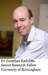 Dr Jonathan Radcliffe - Bio