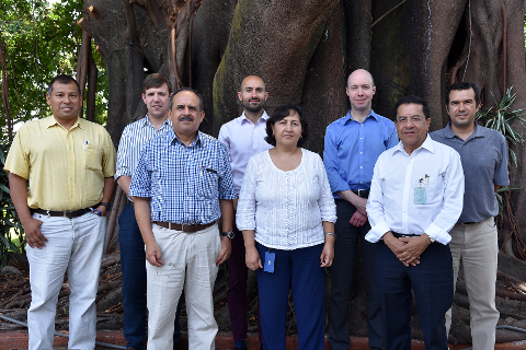 Energy storage prioritisation in Mexico project team
